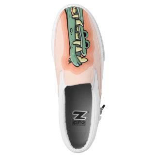 Cool Crocodile Snout Sneakers