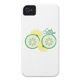 Cool Cucumber iPhone 4 Case-Mate Case