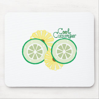 Cool Cucumber Mousepads