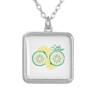 Cool Cucumber Custom Necklace