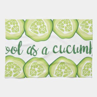 Cool Cucumber Tea Towel