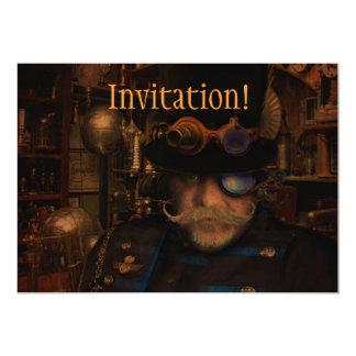 Cool Custom Steampunk Fantasy Captain Sean Card