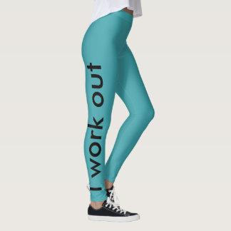 Cool Custom Workout Gym Mint Legging