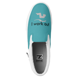 Cool Custom Workout Gym Mint Shoes