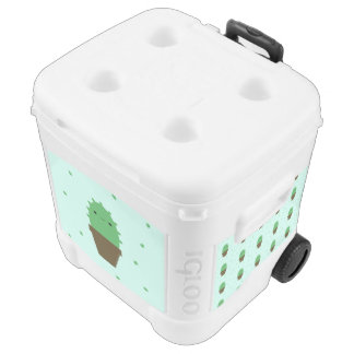 Cool cute cactus kawaii roller cooler