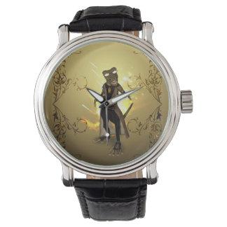 Cool, cute gecko watches