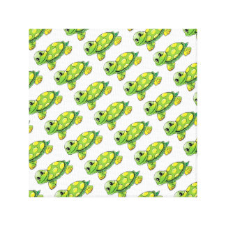 Cool Cute Turtle Canvas Print