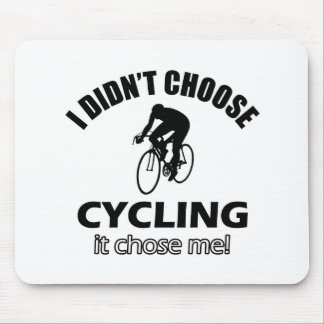 Cool cycle designs mouse pads