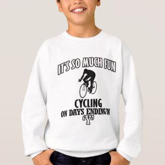 cool Cycling DESIGNS Sweatshirt