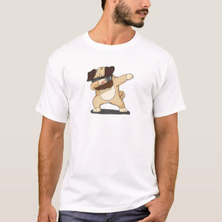 Cool Dabbing Pug with Sunglasses Shirt