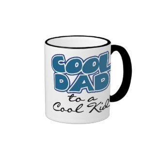 Cool Dad to a Cool Kid Ringer Coffee Mug