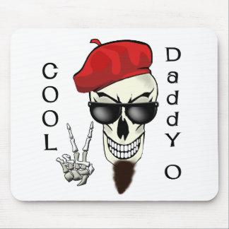 Cool Daddy - O Beatnik Skull Mouse Pad