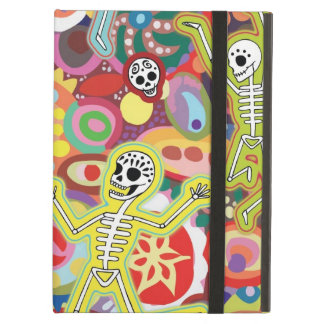 Cool Dancing Skeletons iPad Case with Kickstand