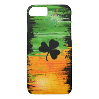 Cool Dark Lucky Clover and Ink iPhone 8/7 Case
