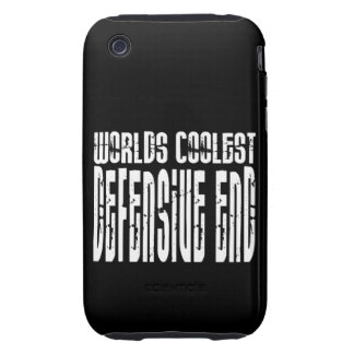 Cool Defensive Ends : Worlds Coolest Defensive End Tough iPhone 3 Cases