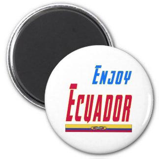 Cool Designs For Ecuador 6 Cm Round Magnet