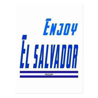 Cool Designs For El Salvador Postcard