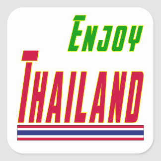 Cool Designs For Thailand Square Sticker