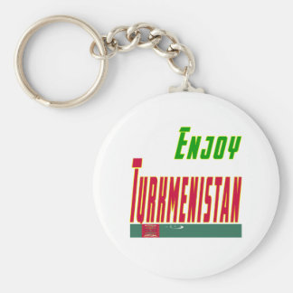 Cool Designs For Turkmenistan Key Chain