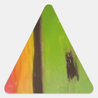 cool designs triangle sticker