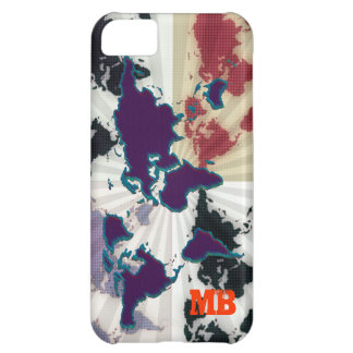 cool different world map iPhone 5C case