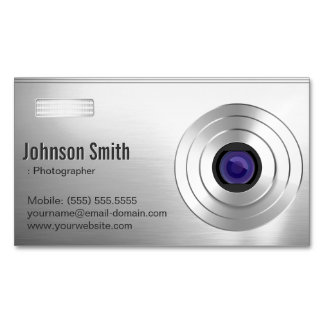Cool Digital Camera - Photographer Photography Magnetic Business Card