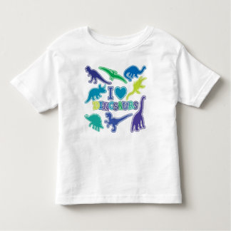 Cool Dinosaur T-Shirt - Blue, Purple and Green