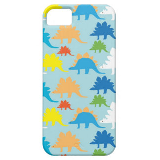 Cool Dinosaurs iPhone 5 Case Light Blue