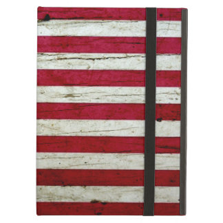 Cool Distressed American Flag Wood Rustic iPad Air Cases