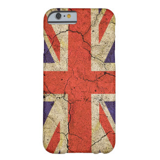 Cool Distressed Union Jack English Flag Barely There iPhone 6 Case