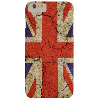 Cool Distressed Union Jack English Flag Barely There iPhone 6 Plus Case