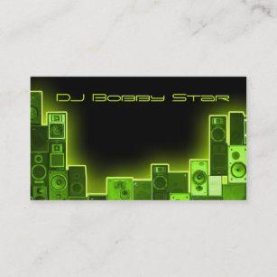 Dj business cards business card printing zazzle cool dj business card colourmoves
