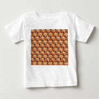Cool Dog Art Doggie Golden Retriever Abstract Baby T-Shirt