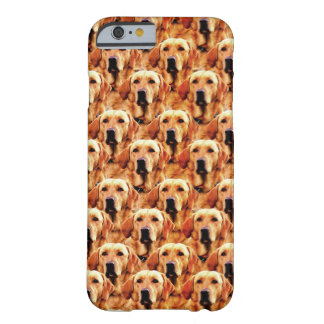Cool Dog Art Doggie Golden Retriever Abstract Barely There iPhone 6 Case