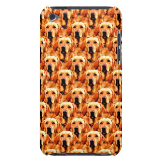 Cool Dog Art Doggie Golden  Retriever Abstract iPod Touch Covers