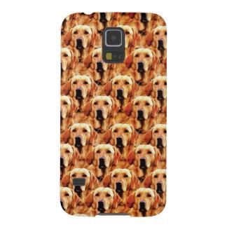Cool Dog Art Doggie Golden Retriever Abstract Case For Galaxy S5
