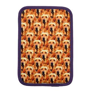 Cool Dog Art Doggie Golden  Retriever Abstract iPad Mini Sleeve
