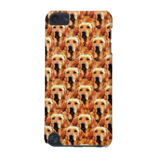 Cool Dog Art Doggie Golden Retriever Abstract iPod Touch (5th Generation) Cover