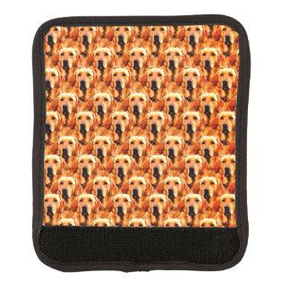 Cool Dog Art Doggie Golden  Retriever Abstract Handle Wrap