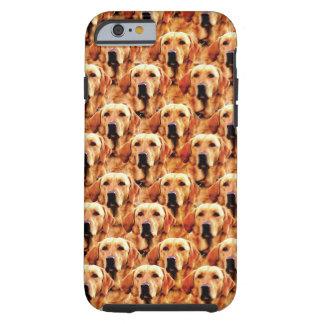 Cool Dog Art Doggie Golden Retriever Abstract Tough iPhone 6 Case