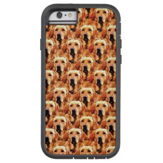 Cool Dog Art Doggie Golden Retriever Abstract Tough Xtreme iPhone 6 Case