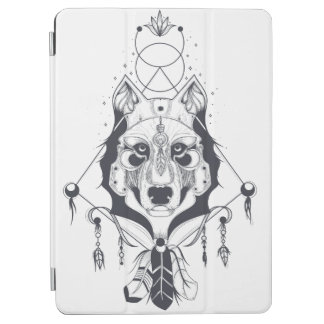 cool dog design art iPad air cover