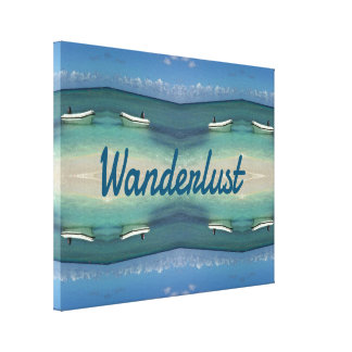 Cool Double beach Azure Water Wanderlust Canvas Print