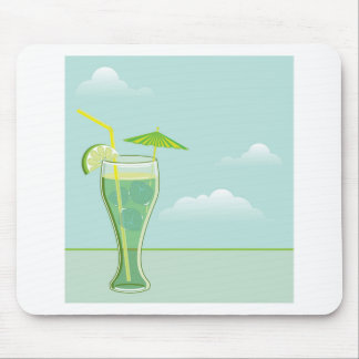 Cool Drink vector Mouse Pad
