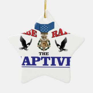 cool eagle rap ceramic star decoration