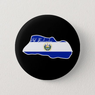 Cool El Salvador 6 Cm Round Badge
