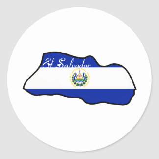 Cool El Salvador Sticker