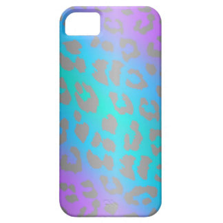 Cool Electric Leopard Fur Animal iPhone Case
