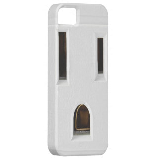 Cool electrical outlet case for the iPhone 5