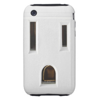 Cool electrical outlet tough iPhone 3 cases